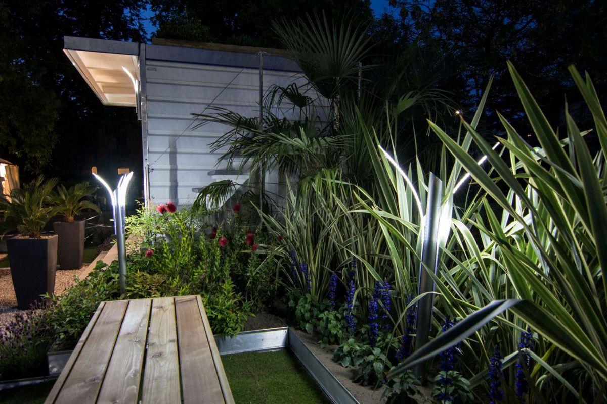 Illuminazione giardino : design e led per un giardino moderno